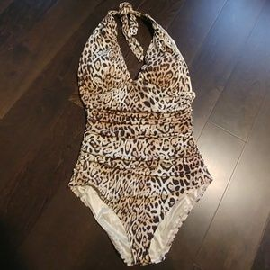 Victoria secret halter swimsuit size medium